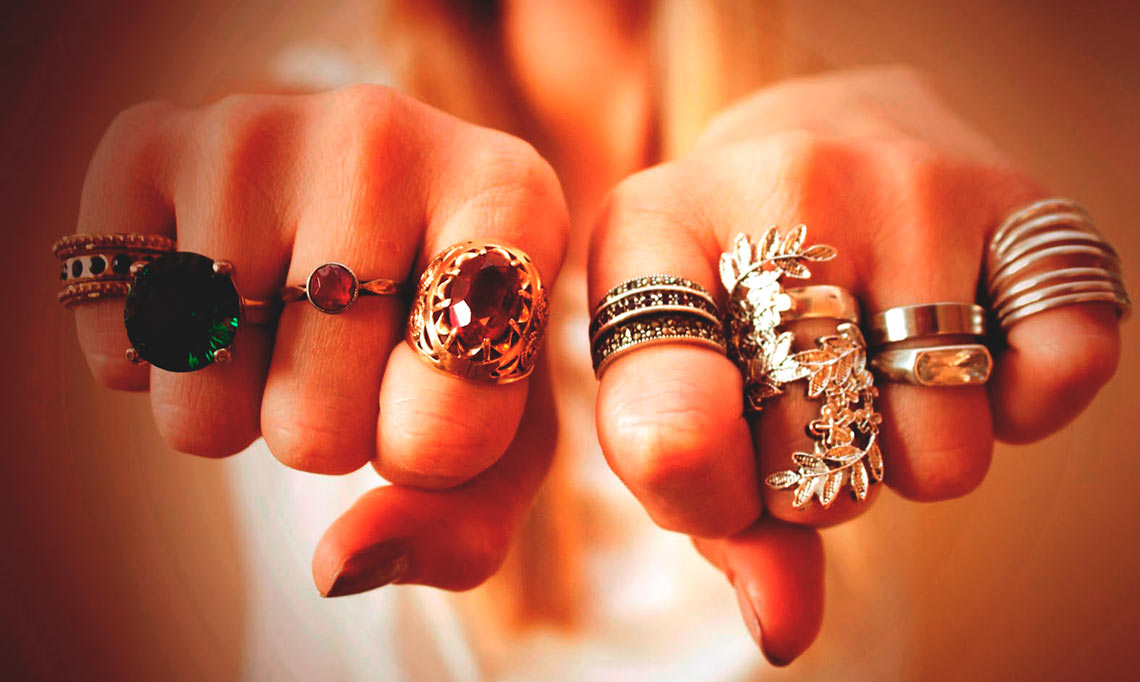 все о кольцах