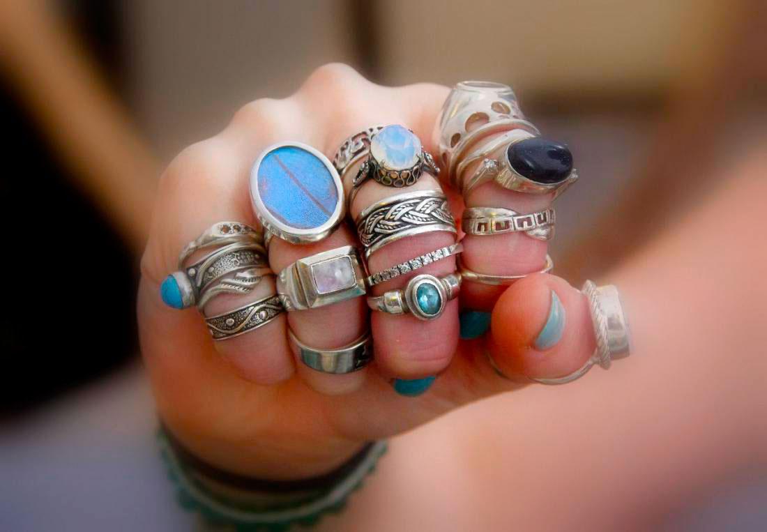 Сложно ли выбрать серебряное кольцо в Интернете