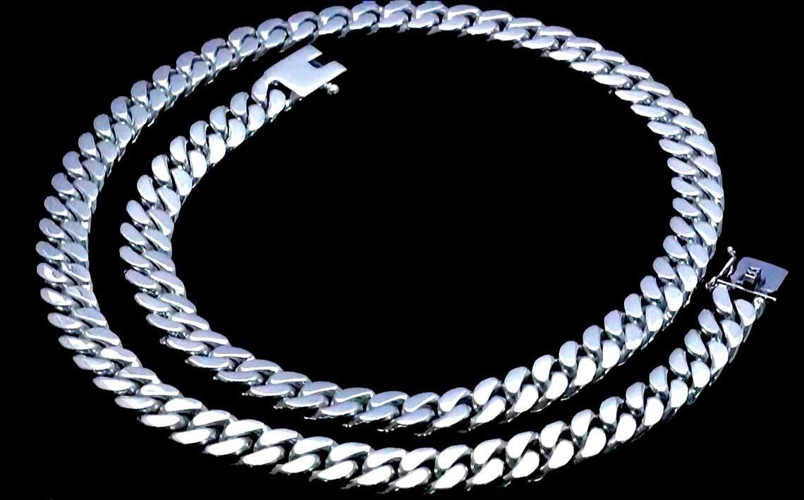 Мужская цепочка из серебра - стильный аксессуар для мужчин