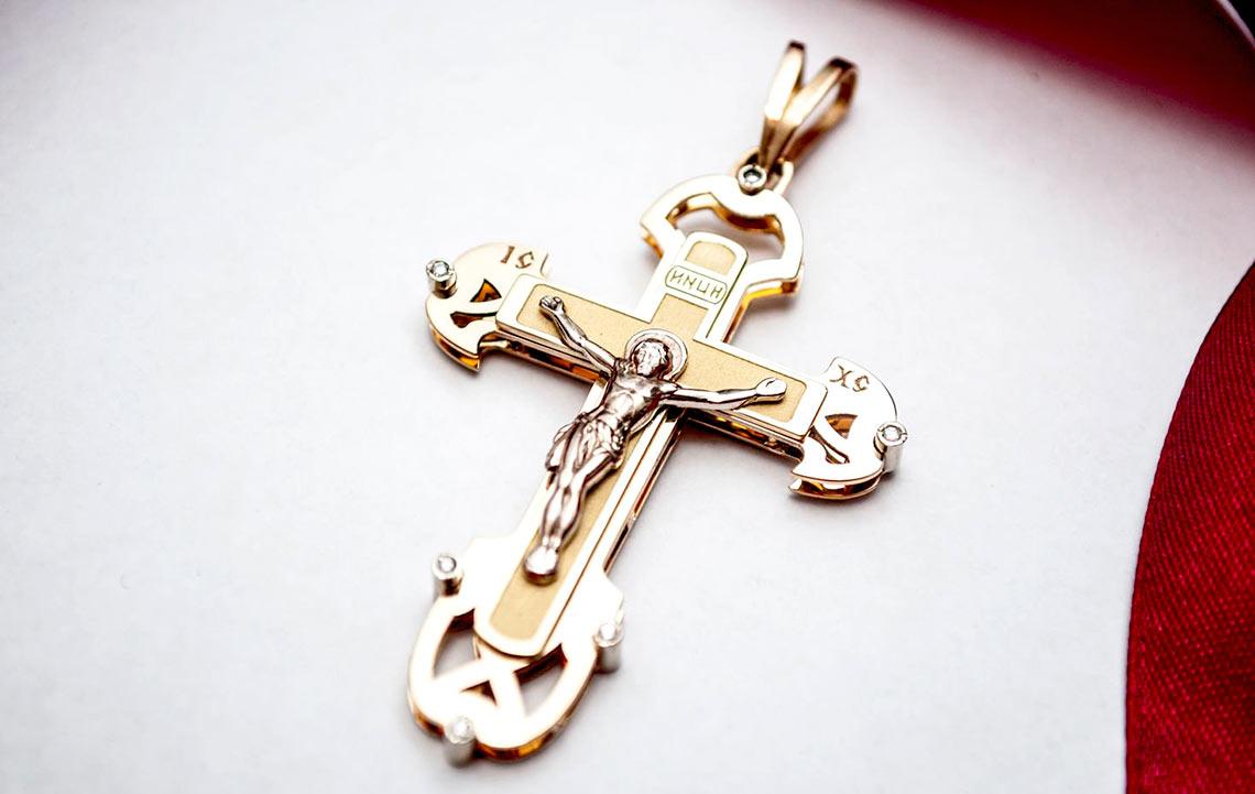 Золотой крестик на крестины - можно ли покупать?