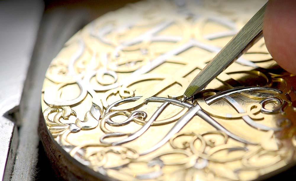 Гравировка ювелирных изделий